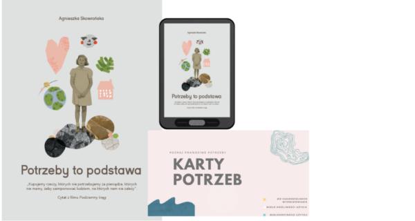 Zestaw – książka plus ebook (Karty potrzeb gratis)