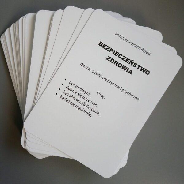 Karty potrzeb (wydrukowane)